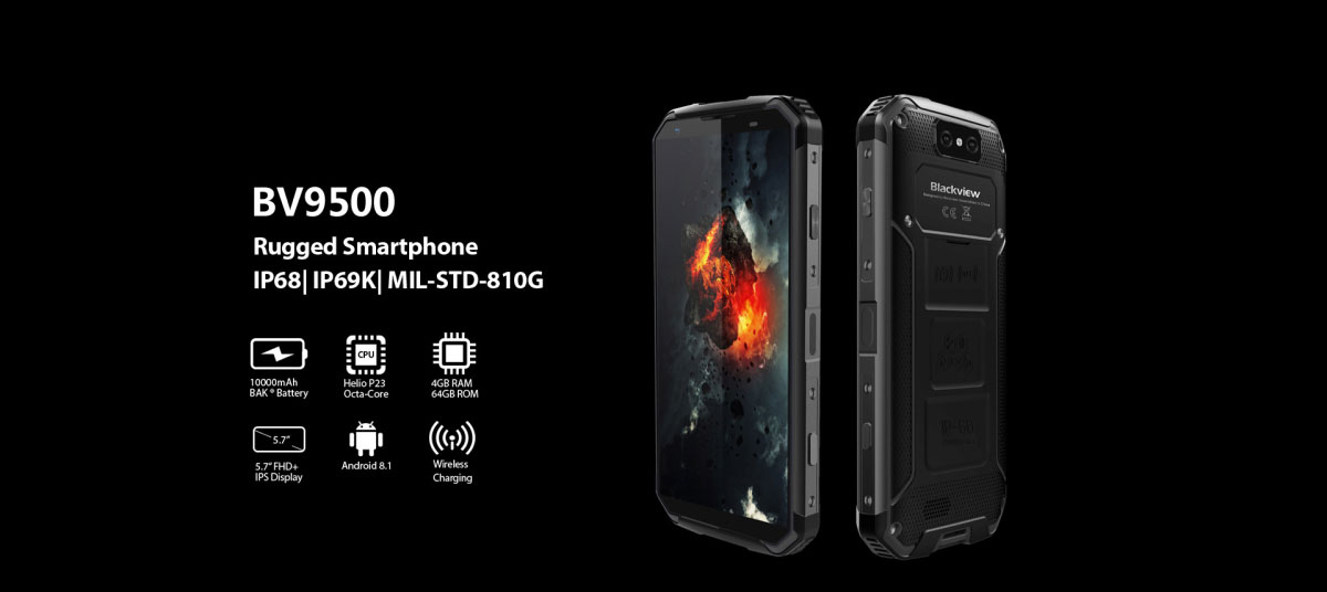 4g blackview bv9500 5 7inch mobile phone 4gb 64gb octa core